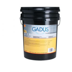 Shell Gadus S2 V220 2 grease in a pail